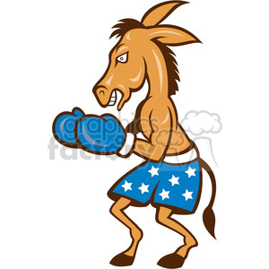 donkey democrat boxer boxing fight fighter fighting politics political American
