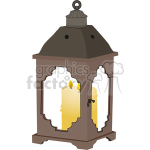 Candle Lantern 01 clipart. Royalty-free image # 388536