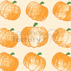 6649 Royalty Free Clip Art Pumpkin Background Seamless Pattern clipart. Commercial use image # 389765