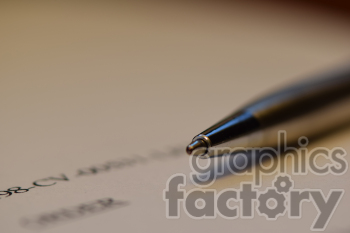 pen document photo. Royalty-free photo # 391052