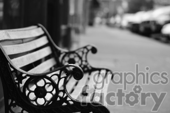 city bench photo. Royalty-free photo # 391177