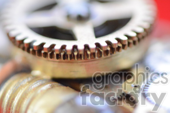 steampunk gears photo. Royalty-free photo # 391197