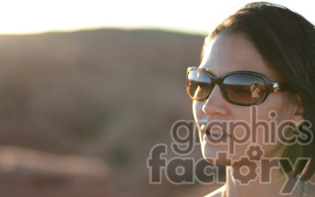 female wearing sunglasses photo. Royalty-free photo # 391272