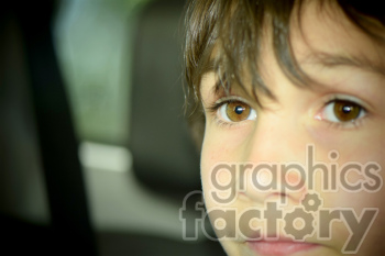 child looking ahead photo. Royalty-free photo # 391282