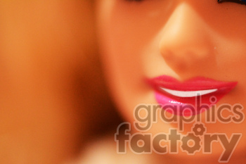 Barbie lips fake people photo photo. Royalty-free photo # 391332