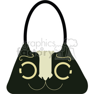 Womens Purse 05 clipart. Commercial use image # 391526
