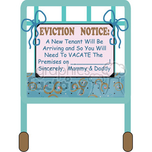 Baby Shower Announcement clipart. Commercial use image # 391533