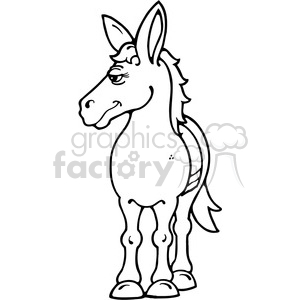 Horse clipart. Royalty-free image # 391574