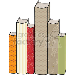 Book Group clipart. Royalty-free image # 391644
