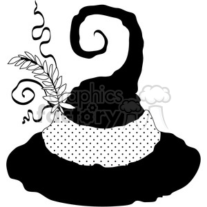 Witch Hat clipart. Royalty-free image # 391621
