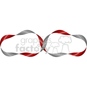infinity symbol vector ribbon clipart. Royalty-free image # 392497