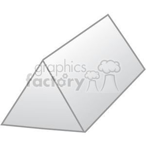 geometry shaded triangular prism math clip art graphics images clipart. Royalty-free image # 392535