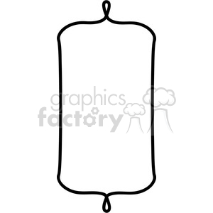 curved lines for frame border in vector clipart. Commercial use image # 392575