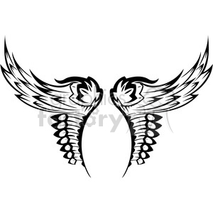 wings clipart. Royalty-free image # 392778