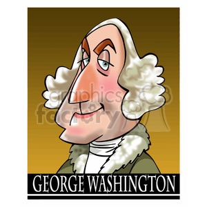 george washington color clipart. Royalty-free image # 392918