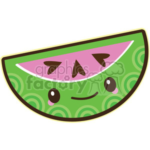 watermelon clipart. Royalty-free image # 393449
