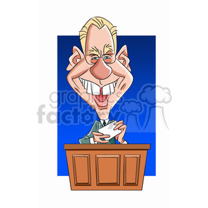 david letterman celebrity cartoon character clipart. Royalty-free image # 393519