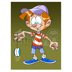 image of boy playing with yoyo nino con yoyo