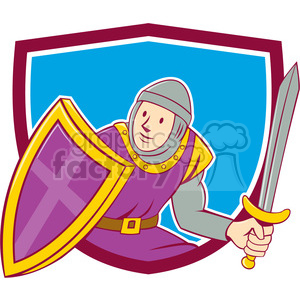 medieval knight shield sword SHIELD clipart. Commercial use image # 394511