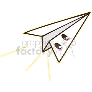 Paper Airplane clipart. Royalty-free image # 394661