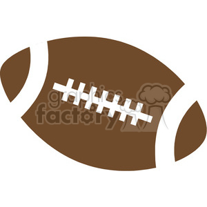 cartoon football clipart. Royalty-free image # 169036