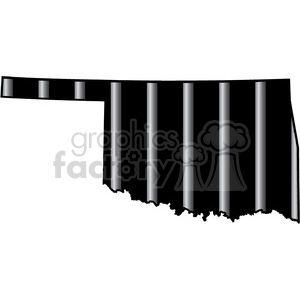 prison oklahoma jail bars tattoo design clipart. Royalty-free image # 394807