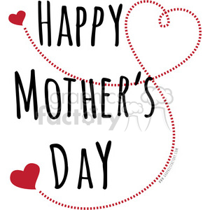 beautiful typography word words happy+mothers+day holiday love family hearts rg