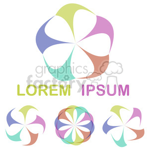 logo template design 011 clipart. Royalty-free image # 397244