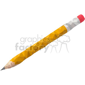 Pencil geometry geometric polygon vector graphics RF clip art images background. Commercial use background # 397368