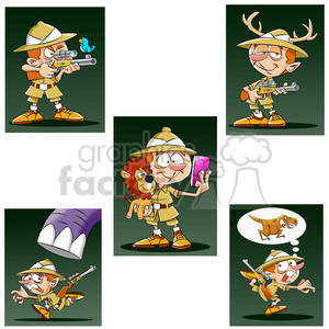 leo the cartoon safari character clip art image test clipart. Royalty-free image # 397478