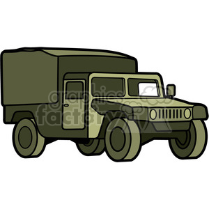 military armored medic vehicle clipart. Commercial use image # 397986