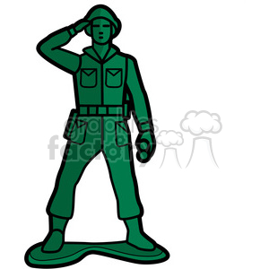 toy soldier illustration graphic clipart. Royalty-free image # 398056
