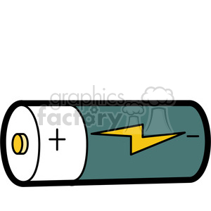 cartoon battery illustration graphic clipart. Commercial use icon # 398076