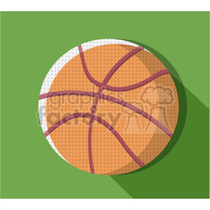 sports equipment basketball illustration clipart. Commercial use image # 398136