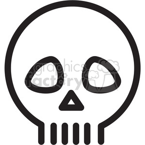 skull icon clipart. Royalty-free icon # 398381