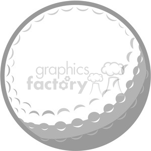Vector golf ball clipart. Commercial use image # 375324
