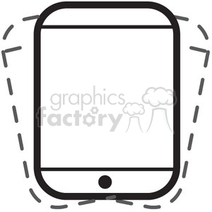 shake phone vector icon clipart. Royalty-free icon # 398639
