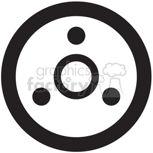 tape reel vector icon clipart. Royalty-free image # 398643