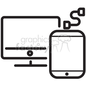 charge phone battery vector icon clipart. Commercial use image # 398658