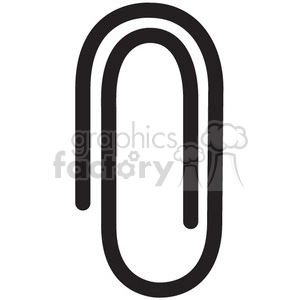 paper clip vector icon clipart. Royalty-free icon # 398688
