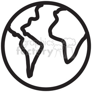 earth vector icon clipart. Commercial use image # 398693