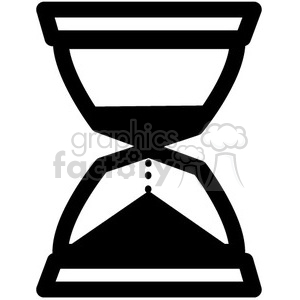 icon icons black+white outline symbols SM vinyl+ready time hourglass timer