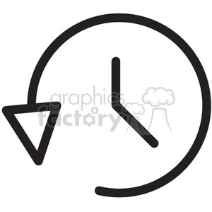 icon icons black+white outline symbols SM vinyl+ready timer time alarm