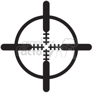 crosshair vector icon clipart. Royalty-free icon # 398718