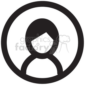 profile male vector icon clipart. Commercial use icon # 398758