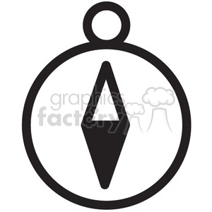 icon icons black+white outline symbols SM vinyl+ready direction compass travel route