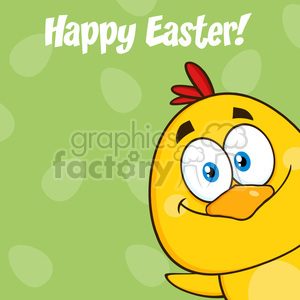 cartoon happy+easter