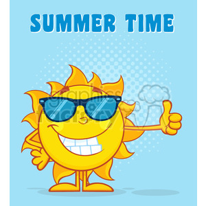 nature weather summer sun sunny cartoon travel vacation smile happy thumbs+up