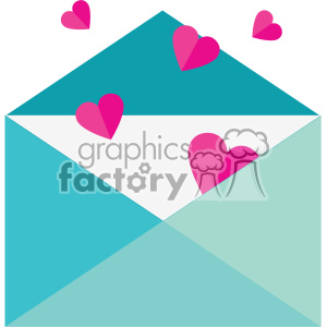 love letter with hearts svg cut files vector valentines die cuts clip art clipart. Royalty-free image # 402322