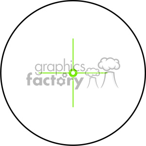 vector reticle aim sight moa peep image clipart. Royalty-free image # 402360